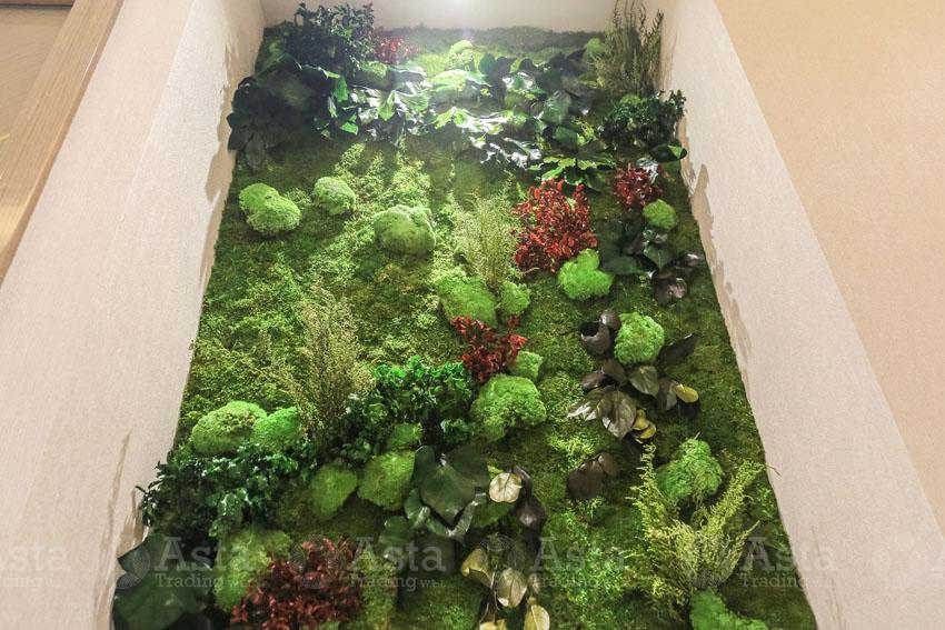 Indoor Greenwall Design Project Katara Hospitality