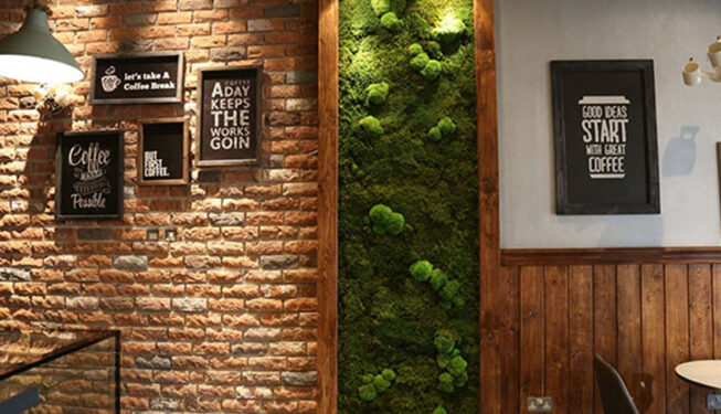 Preserved Green Wall Project at Green Bean